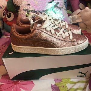 Sparkly Puma Sneakers